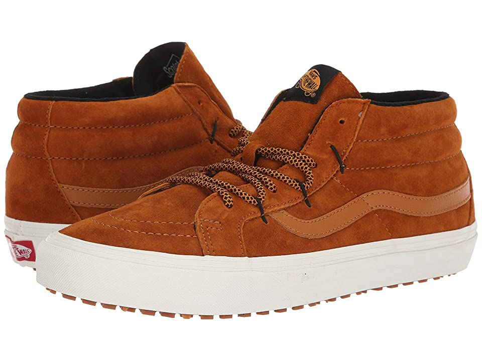 Vans SK8-Mid Reissue Ghillie MTE ((MTE) Sudan Brown/Marshmallow) Skate Shoes