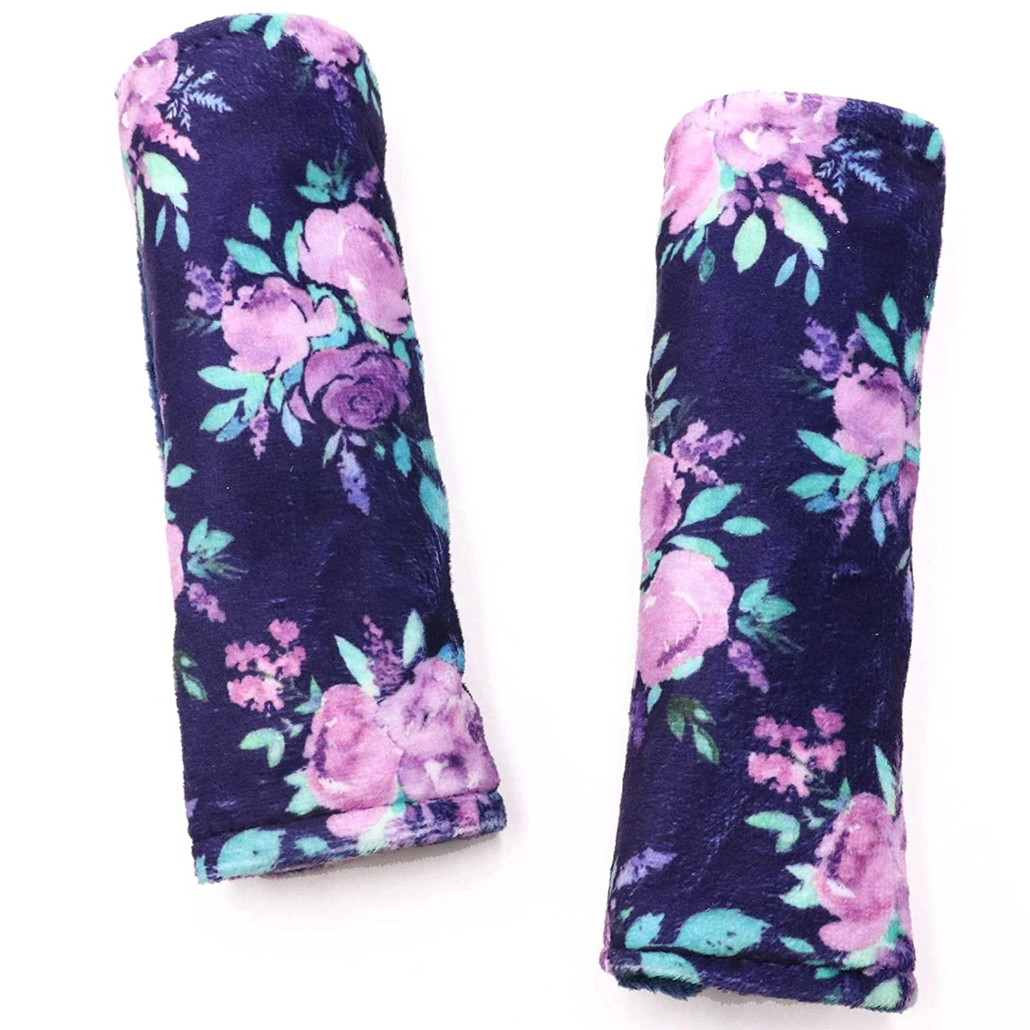Baby Car Max 48% OFF Seat Belt Covers Max 40% OFF Strap Flower Purple f