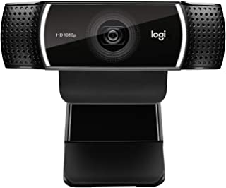Logitech C922x Pro Stream Webcam – Full 1080p HD Camera
