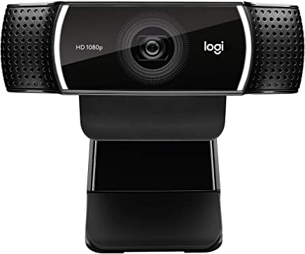 Logitech C922x Pro Stream Webcam – Full 1080p HD Camera – Background Replacement Technology for YouTube or Twitch Streaming