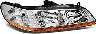 1Pc Passenger/Right Side OE Style Chrome Housing Headlight Lamp for Honda Accord 98-02