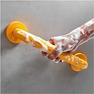 グラブレール、 障害者 老人 バリアフリー 滑り止めの手すり 夜は安全 ステンレス鋼ネジ付き バスルームに適しています、 バスタブ、 トイレの隣 (Color : Yellow, Size : 78cm)