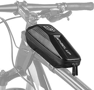 Elegant Choise Bike Frame Bag, Waterproof Bike Top Tube Bag Bicycle Bag Cycling Frame Pack with Double Zipper Design