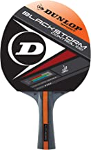 Dunlop Storm Control Table Tennis Racket, Red/Black