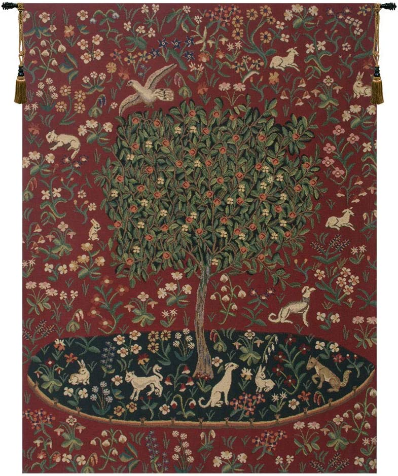The Cluny Tree Super Max 52% OFF intense SALE Belgian Tapestry Cotton 70.00