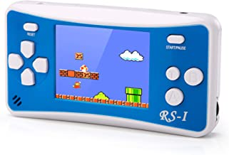 RS-I Retro Handheld Game Console with HD 2.5 inches Screen, Support Play on TV Portable Video Game Player for Kids Adults