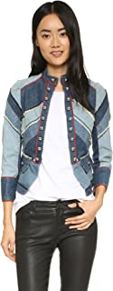 Marc by Marc Jacobs Women's Chevron Victoria Denim Jacket