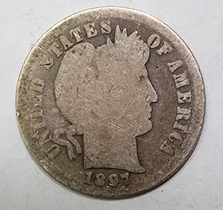 1897 dime