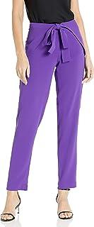 A|X Armani Exchange Women's Elegant Pants With Front Tie