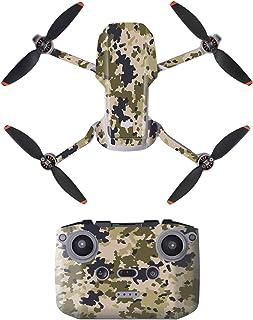 DJFEI Mavic Mini 2 Skin Adesivo Decals Set, Mini 2 Drone Decalcomania Impermeabile AntiGraffio di Protezione Guardia Skin ...