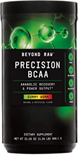 Beyond Raw Precision BCAA - Gummy Worm, 30 Servings, Provides Energy and Supports Muscle Repair