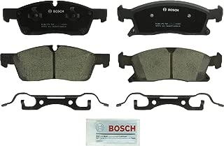 Bosch BC1455 QuietCast Premium Ceramic Disc Brake Pad Set For: Dodge Durango; Jeep Grand Cherokee; Mercedes-Benz GL350, GLE300d, GLE350, ML250, ML350, ML400, Front