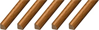 CalFlor MD20105 Quarter Round Floor Molding, 5 Pack, Country Pine, 5 Each