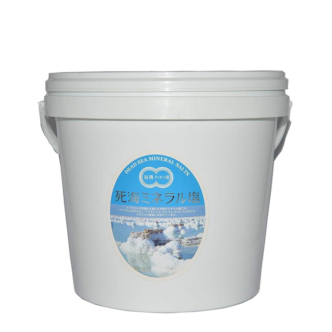 有用オーバードロー局死海ミネラル塩5kgバケツ