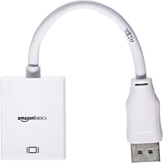 AmazonBasics DisplayPort to HDMI Display Adapter Cable
