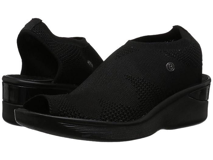 Bzees  Secret (Black Knit) Womens Sandals