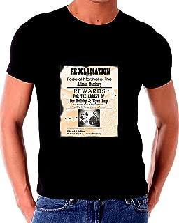 Wanted Doc Holliday Wyatt EARP for Murder of Frank Stilwell in Tucson T Shirt