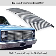 APS 304 Stainless Chrome Billet Grille Compatible with 1981-87 Chevy C K Pickup Suburban Blazer C85002S
