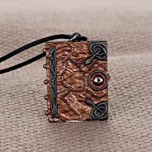 Halloween Choker Jewelry - Hocus Pocus Spell Book Long Necklace Witches Sanderson Sister Halloween Choker Women Jewelry Double Sided Gift Letter Necklace