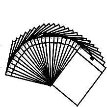 "SMTTW Dry Erase Pockets Sleeves -Black Reusable Clear Plastic Sleeves -24 Pack Dry Erase Sleeves 10"" x 14"" Heavy Duty Dry ..."
