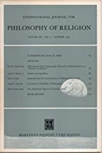 International Journal for Philosophy of Religion, vol. III (3), no. 2 (Summer 1972): Whitehead's God; Models & Qualifiers; Interpretation of Mystical Experience; Existential Aspects of Christian Faith