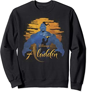 Disney Aladdin Live Action Genie & Aladdin Sunset Silhouette Sweatshirt