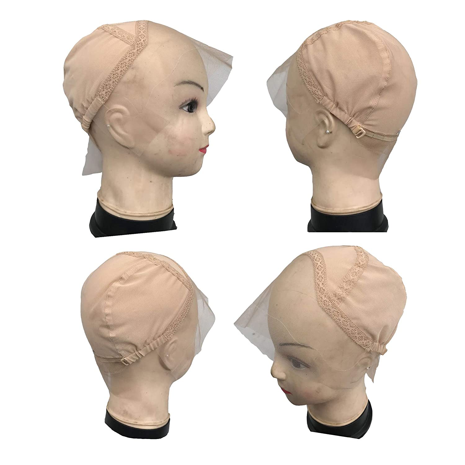 Popular brand in the world Max 62% OFF FURUN Lace Front Wig Cap for Wigs with Strap Adjustable Making G