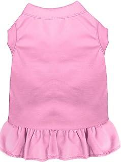 فستان 59-00 MDLPK بدون زخرفة للحيوانات الأليفة، مقاس متوسط، لون وردي فاتح من ميراج بت برودكتس