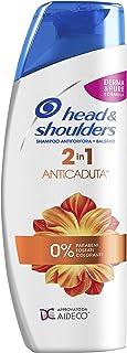 Head & Shoulders Shampoo e Balsamo 2in1 Anticaduta e Antiforfora, per Capelli, 225 ml