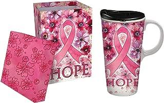 Best breast cancer ceramic travel mug Reviews