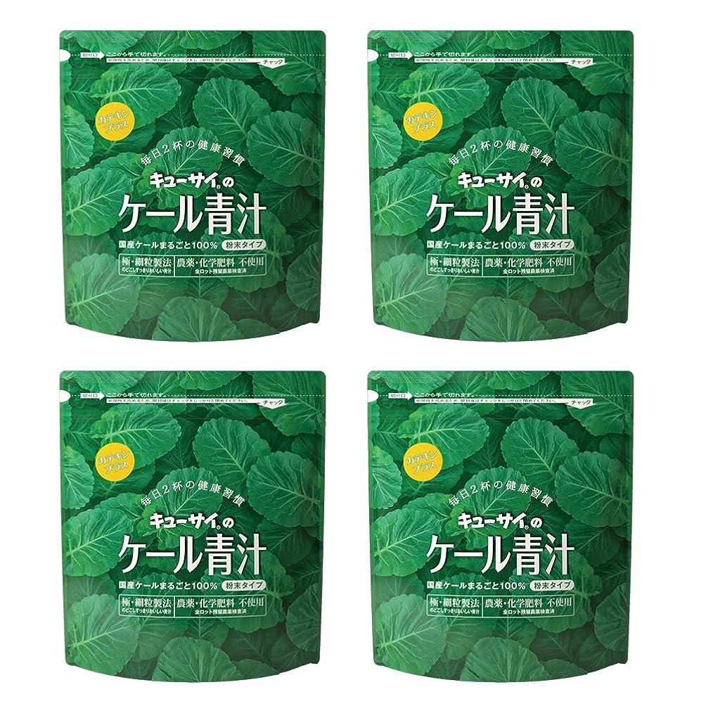 寛容なスロベニアマイクロフォンキューサイ青汁カテキンプラス420g(粉末タイプ)4袋まとめ買い【1袋420g(約1カ月分)】