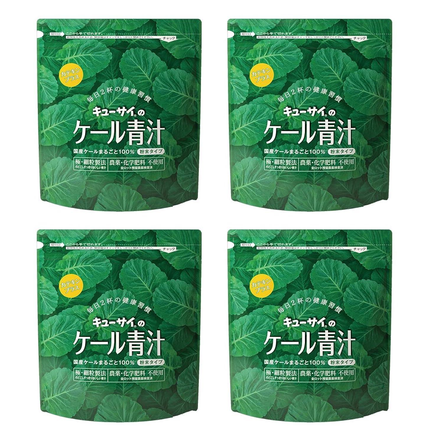 荒らす不測の事態音節キューサイ青汁カテキンプラス420g(粉末タイプ)4袋まとめ買い【1袋420g(約1カ月分)】