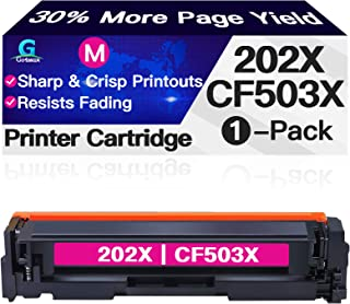 Go4max Compatible Toner Cartridge Replacement for HP 202X 202A CF503X CF503A use with HP Laserjet Pro MFP M281fdw M281cdw ...