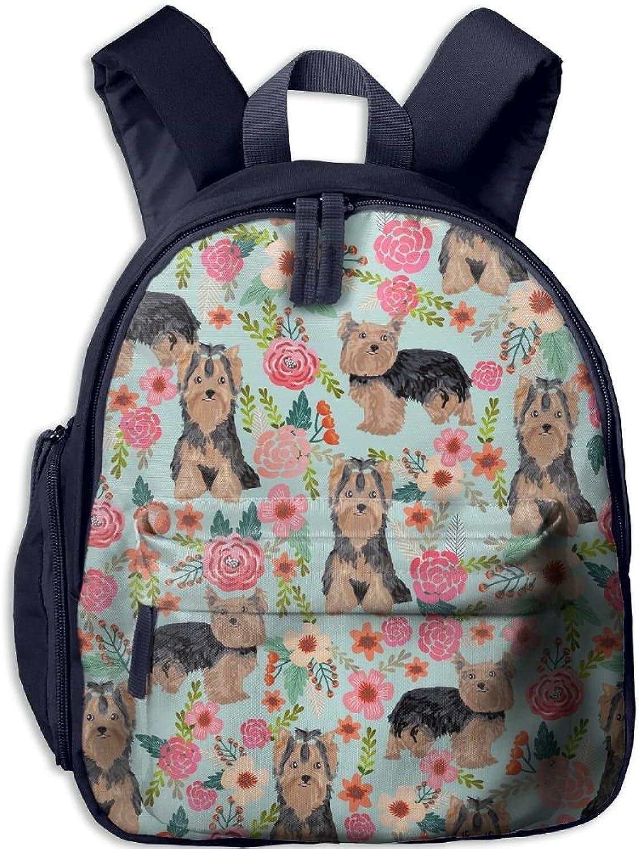 Lightweight Travel School Backpack Yorkie(2853) For Girls Teens Kids