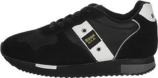 Blauer Scarpe Uomo Sneakers in camoscio Nero F0DASH02-NYL-BLK