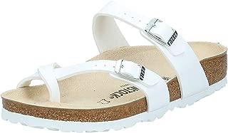 Birkenstock Womens Mayari Slide Sandal, White, 36 M EU