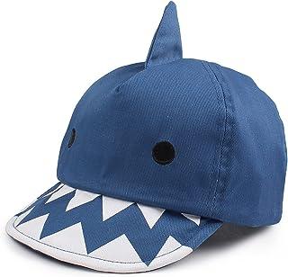 Requin Chapeau pour Bébé Garçon Coton Casquette de Soleil Petit Enfant Chapeau Printemps D'été