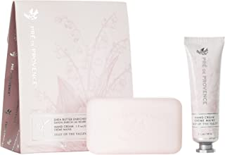 Pre de Provence Gift Set Collection 150 Gram Soap Bar & 1 fl oz Hand Cream, Lily of the Valley