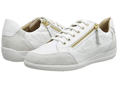 Geox Myria 51 (White/Off-White) Women