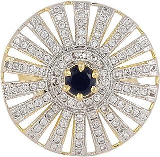 خاتم Cz رائع من المجوهرات الهندية من كراتشوك فاشون للنساء