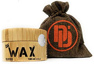 Da Dude Da Wax Cera Pelo Hombre Mate - Único Fijador de Peinado en un Envase Regalo de Madera