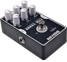 Caline Digital Reverb Pedal Guitar Effects Pedal True Bypass with Aluminum Alloy Housing CP-26 Snake Bit, Black