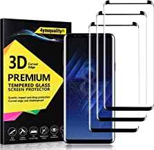 4youquality [3-Pack] Samsung Galaxy S8 Screen Protector, Tempered Glass Film [LifetimeWarranty][Full Coverage][Scratch-Resistant] Screen Protector for Samsung Galaxy S8