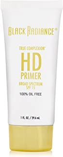 Black Radiance True Complexion HD Primer SPF 15, Natural Nude, 1 Ounce
