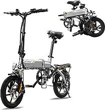 HITWAY Elektrische fiets E-Bike Pedelec stadsfiets vouwfiets fiets fiets van luchtvaartaluminium, 7,5 Ah batterij, 250 W m...
