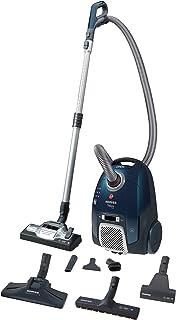 Hoover Telios Extra TX 60 PET 011, 4A++, 62dB, odkurzacz z workiem, wygodny uchwyt z pętelką, plastik, 3,5 l, niebieski