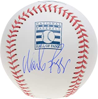Wade Boggs Boston Red Sox Autographed Hall of Fame Logo Baseball - Fanatics Authentic Certified - Autographed Baseballs