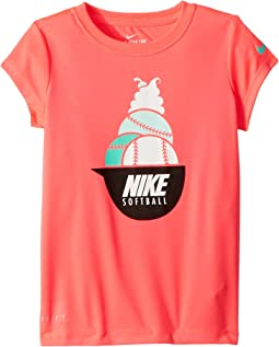 Nike Kids Softball Sundae Dri-FIT Short Sleeve Tee (Little Kids)