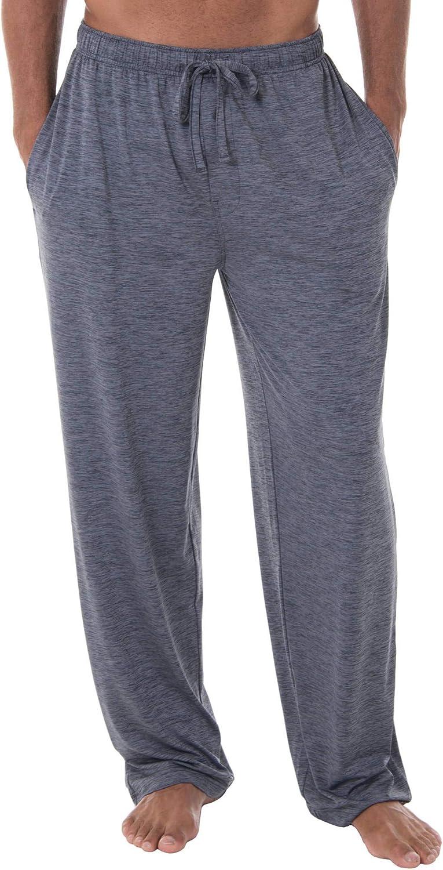 Fruit of the Loom Men's Sleepwear | Moisture Wicking Pajama Knit Pant| 91% Polyester / 9% Spandex |