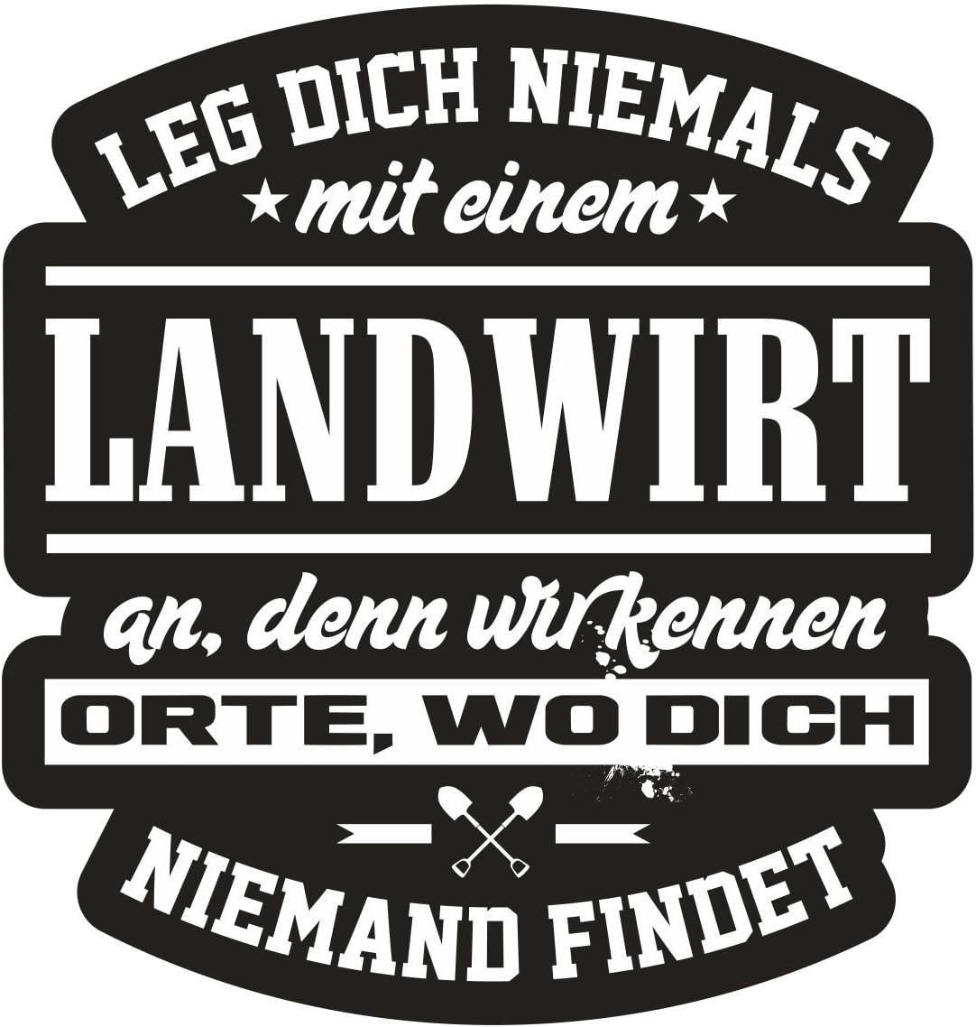 Aufkleber Wetterfest Landwirt 10 Oder 40cm Bauer Traktor Mähdrescher Geschenk Auto